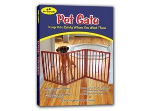 Freestanding Folding Wood Pet Animal Safety Gate