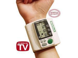 Wristech Blood Pressure Monitor/Heart Rate + Bonus Case