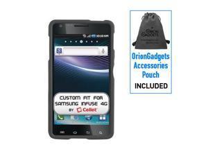 Samsung Infuse 4G OEM Rubberized Proguard Case (Black)