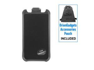 HTC Droid Incredible 2 Rubberized Force Holster (Black)