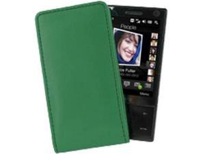 Blackberry Pearl 8100 Vertical Pouch Type Case (Green)