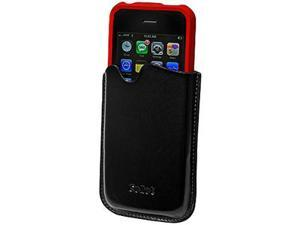 Apple iPhone 3G Signature Leather Vertical Pouch for Proguard Case (Black)