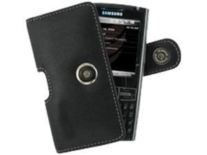 Samsung Epix i907 Leather Horizontal Pouch Type Case (Black)