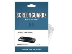 BlackBerry Torch 9800 ScreenGuardz HD (Hard) Anti-Glare Screen Protectors (Pack of 2)