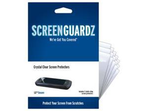 LG Encore ScreenGuardz Ultra-Slim Screen Protectors (Pack of 5)
