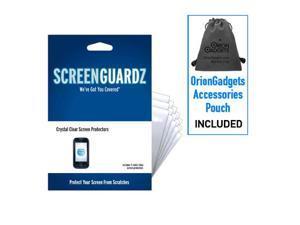 Pantech Laser ScreenGuardz Ultra-Slim Screen Protectors (Pack of 5)
