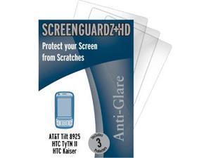 AT&T Tilt ScreenGuardz HD (Hard) Anti-Glare Screen Protectors (Pack of 3)