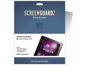 Samsung Galaxy Tab 10.1 ScreenGuardz HD (Hard) Anti-Glare Screen Protectors (Pack of 1)
