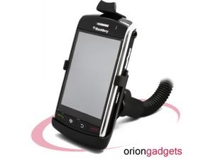 BlackBerry 9530 Storm Car Window Mount Holder w/ Flexible Stand (Black)