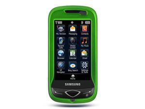Samsung U820 Reality Rubberized Protective Shell Case (Green)
