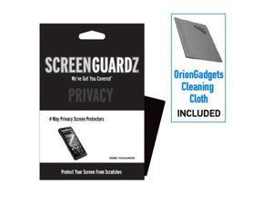 Motorola Droid X ScreenGuardz 4-Way Privacy Screen Protector (Pack of 1)
