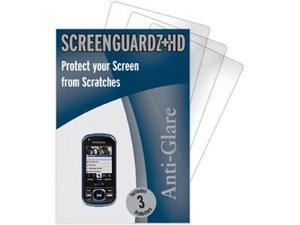 Samsung Exclaim M550 ScreenGuardz HD (Hard) Anti-Glare Screen Protectors (Pack of 3)