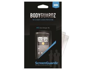 HTC EVO Design 4G ScreenGuardz HD (Hard) Anti-Glare Screen Protectors (Pack of 2)