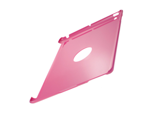 Appel iPad 2 Hard Plastic ProGuard Case - Rear only (Gloss Edge Design) (Pink)