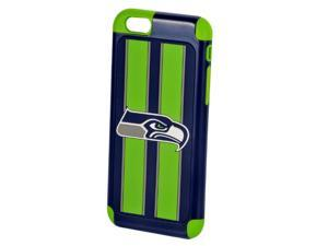 Apple iPhone 6 Official Licensed NFL Dual Hybrid Rugged Case - SEATTLE SEAHAWKS