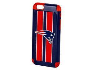 Apple iPhone 6 Official Licensed NFL Dual Hybrid Rugged Case - NEW ENGLAND PATRIOT