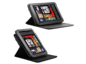 Fosmon 360 Degree Amazon Kindle Fire Rotating Leather Case with Swivel Stand