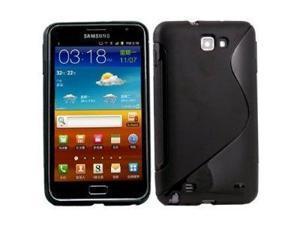 Fosmon S-Curve Soft Shell TPU Case for Samsung GALAXY Note GT-N7000 / SGH-I717