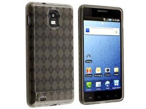 Fosmon TPU Skin Cover for Samsung Infuse 4G i997, Argyle Smoke