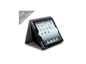 Acase Origami Leather case for iPad 2 / The new iPad 2012 - black