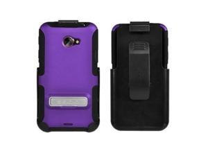 Seidio ACTIVE Case and Holster Combo with Metal Kickstand for HTC EVO 4G LTE
