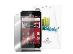 GreatShield Ultra Anti-Glare (Matte) Clear Screen Protector Film for LG Optimus Elite - 3 Pack