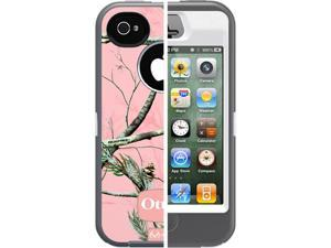 Otterbox Defender Realtree Camo Case for Apple iPhone 4/4S - AP Pink