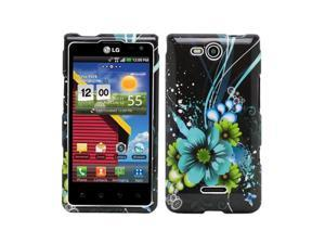 Fosmon Crystal Hard Shell Protector Case Cover for LG Lucid 4G