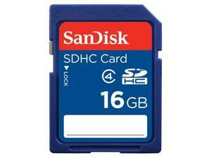 SanDisk 16GB SDHC Card Class 4 Secure Digital High Capacity - Bulk Packaging