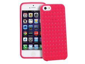 GreatShield Guardian Series Weave TPU Case for Apple iPhone 5/5S - Pink