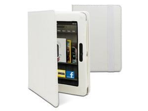 "GreatShield Vogue Series Detachable Revolving Leather Case for Amazon Kindle Fire HD 7"" (White)"