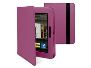 "GreatShield Vogue Series Detachable Revolving Leather Case for Amazon Kindle Fire HD 7"" (Purple)"