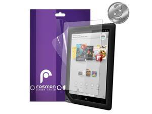 """Fosmon Anti-Glare (Matte) Screen Protector Shield for Barnes & Noble NOOK HD+ 9"""" Tablet - 3 Pack"""