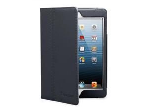 "GreatShield TOME Series Flip Leather Case with Multi Angle Stand for Apple iPad Mini 7.9"" inch Tablet - Black"