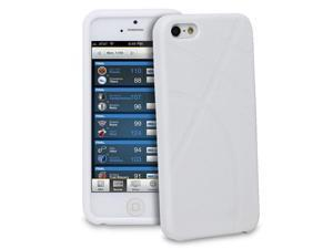 GreatShield GUARDIAN Series TPU Grip Case for Apple iPhone 5/5S - White