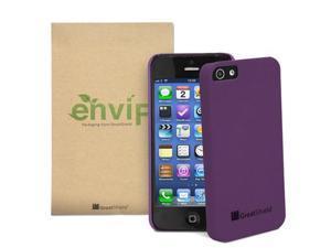 GreatShield Guardian DriftSand Series Slim-Fit Snap-On Case for Apple iPhone 5 - Purple
