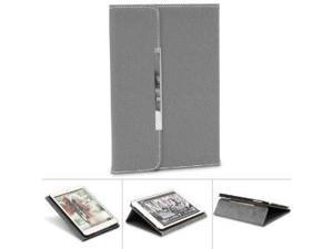 """GreatShield TOME Series Envelope SLIM Leather Case with Foldable Stand for the iPad Mini 7.9"""" Tablet (Gray)"""