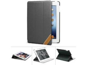 GreatShield VANTAGE Series Ultra SLIM Leather Case with Multi Angle Stand + Sleep / Wake Function for The New iPad (3rd Gen) ...