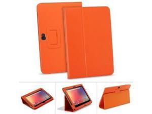 GreatShield TOME Series Flip-Stand Leather Case with Auto Sleep / Wake Feature for Google Nexus 10 inch Tablet - Orange