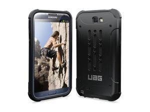 Urban Armor Gear Composite Case with Impact Resistant Bumpers and Screen Kit for Samsung Galaxy Note 2 - Black