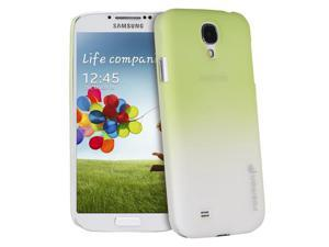 Fosmon MATT Series Rubberized Case Cover for Samsung Galaxy S4 / S IV / GT-I9500 (Green / White)