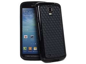 Fosmon DURA-HOLOGRAM Series TPU + PC Case for Samsung Galaxy S4 Active I9295 / SGH-I537 (Black / Black)