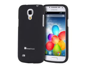 GreatShield iSlide Slim-Fit PolyCarbonate Hard Case for Samsung Galaxy S4 mini GT-I9190 (Black)