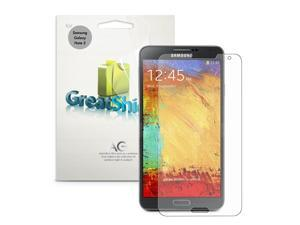 GreatShield Ultra Anti-Glare (Matte) Screen Protector Guard for Samsung Galaxy Note 3 III - Lifetime Warranty (3 Pack)