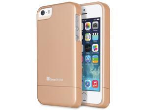 GreatShield iSlide Slim-Fit PolyCarbonate Hard Case for Apple iPhone 5/5S