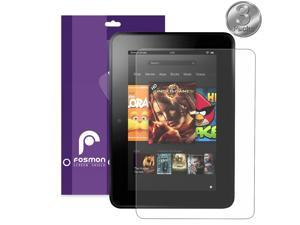 """Fosmon Anti-Glare (Matte) Screen Protector for Kindle Fire HD 7"""" Tablet 2nd Gen 2013 - 3 Pack"""