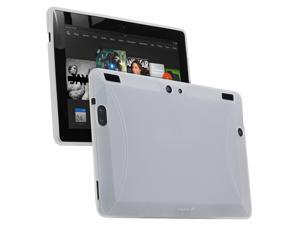 """Fosmon Amazon Kindle Fire HDX 8.9"""" (DURA-FRO) Slim Fit Flexible TPU Case Cover - Clear"""