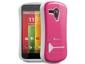GreatShield GUARDIAN (PC + TPU) Hybrid Case withKickstand for Motorola Moto G