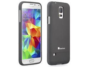 GreatShield iSlide Slim Fit Rubber Coated Hard Cover Case for Samsung Galaxy S5 - Retail Packaging