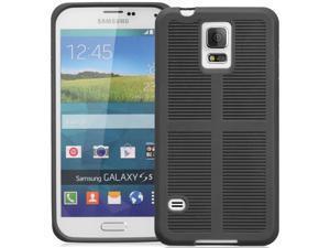 GreatShield FLEXI TPU Durable Design Case for Samsung Galaxy S5 -Black